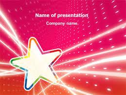 http www pptstar com powerpoint template disco star disco star