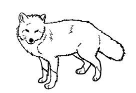 red fox line art by ohbiteme000 on deviantart