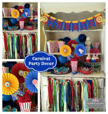 circus party decorations for carnival or circus themed events