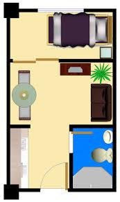 one room house floor plans bedroom plan home kevrandoz