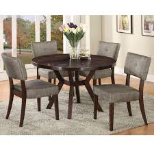 drake espresso finish dining chair set of 2 free shipping