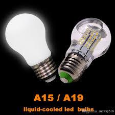 best e26 e27 liquid cooled led light bulbs a15 a19 6w 8w 10w 12w