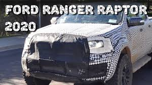 bronco prototype all new 2020 ford ranger raptor picup truck prototype youtube