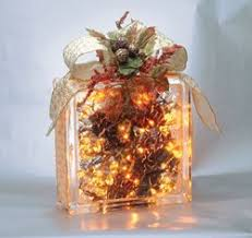 Pittsburgh Corning s Glass Block Holiday Craft Tips