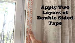 Curtains For Drafty Windows How To Weatherize Windows With Plastic Film Insulation Home