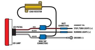 wiring diagram for led tail lights gooddy org