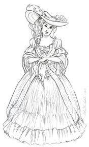 anthony vanarsdale art and illustration historical dress sketches