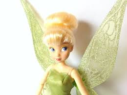 disney store classic doll collection peter pan tinker bell flutter