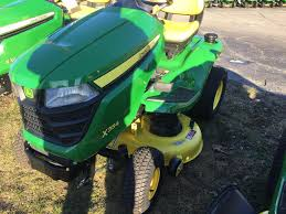 2017 john deere x354 tractor with 42 in deck for sale in old