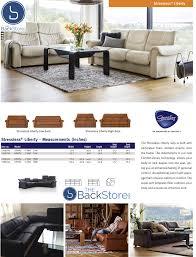 Stressless Windsor Sofa Price Stressless Liberty Sofa By Ekornes High Back Custom Order Colors