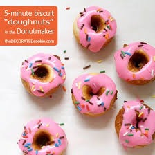 baby cakes maker shortcut breakfast idea biscuit donuts in a babycakes donut maker