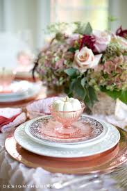 thanksgiving serveware a burnished copper tablescape for a warm thanksgiving dinner