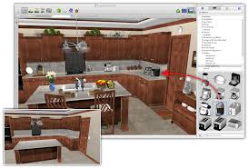 3d Home Design Free Architecture And Modeling Software by Kitchen Design 3d View Kitchen Online Design Planner Autocad