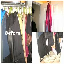 simply in control realistic coat closet organization