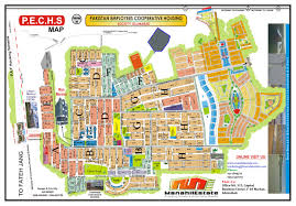 K Map Pechs Islamabad Maps Manahil Estate
