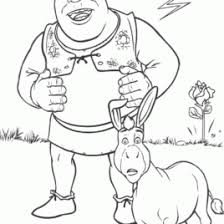 shrek baby coloring page kids drawing and coloring pages marisa