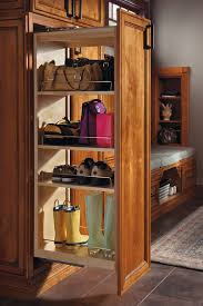 tall pantry pullout cabinet kemper cabinetry