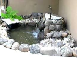 Backyard Fish Pond Kits Pond U0026 Waterfall Aquascape Micropond Kit Youtube