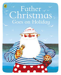 father christmas goes on holiday picture puffin amazon co uk