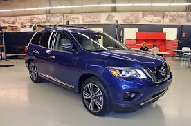 light blue nissan 9 cool facts about the 2017 nissan pathfinder motor trend canada