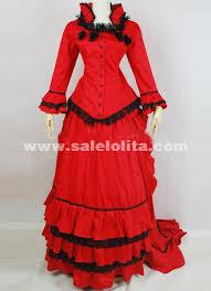 2016 elegant red long sleeves lace renaissance dress women u0027s 19th