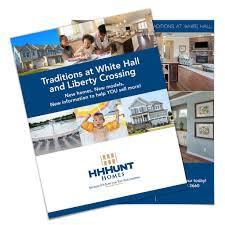 hhhunt homes brochure design doohickey creative
