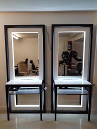 salon mirrors with lights brand new boxed light up floor standing ambient salon mirror