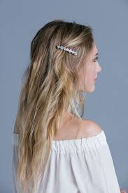medium hair styles with barettes 50 best hair clips barrettes images on pinterest hair