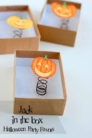 Halloween Party Favors Halloween Party Favors Jack O U0027 Lantern In A Box