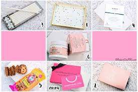 home decor subscription box popsugar must have box august 2017 review code modern chic