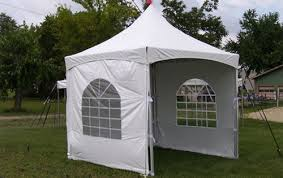 tent rental chicago 10 x 10 high peak frame tent with side walls rental awesome
