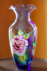 Design For Vase Painting Acrylic Vase Painted Diy Acrylic Vase In Stunning Results Try