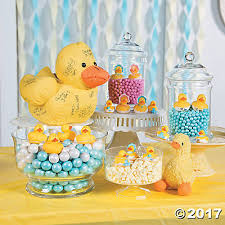 candy bar for baby shower duckie baby shower candy buffet idea