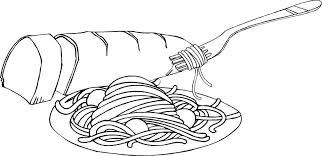 coloring pages food coloring pages pasta best activities free for