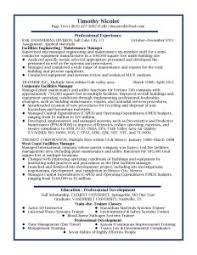 Operations Manager Resume Template 89 Astounding Professional Resume Samples