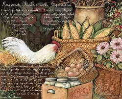 susan winget roasted chicken lang wallpaper american kitchen