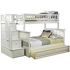 Bunk Bed Trundle Bed Columbia Staircase Bunk Bed With Trundle Bed