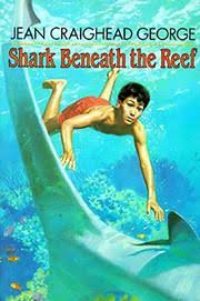 shark beneath the reef by jean craighead george kirkus reviews