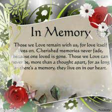 in loving memory of quotes