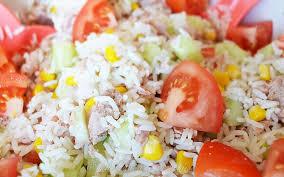 cuisine salade de riz salade de riz au thon emilie ramène sa fraise