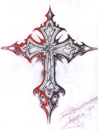 cool cross tattoo gothic cross art newtown 26 crosses teddy bears newtown