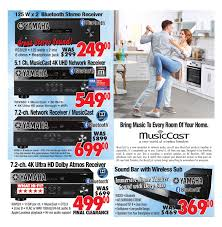 home theater receiver clearance 2001 audio video weekly flyer weekly back to sale aug
