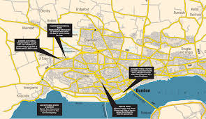 Dundee Scotland Map Police Smash Drug Network Flooding Dundee With Heroin Evening