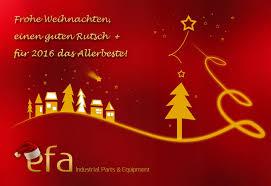 weihnachtsgrüße 2015 efa industries