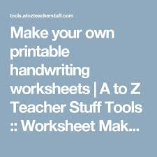 the 25 best handwriting worksheet generator ideas on pinterest
