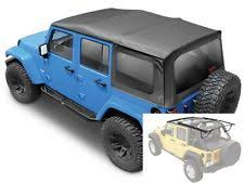 jeep wrangler unlimited softtop jeep wrangler unlimited top ebay