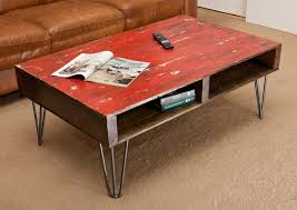 Coffee Table Design Red Painted Coffee Table Coffee Table Design Ideas