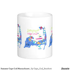 summer cape cod map illustration coffee mug capecod capecodmug