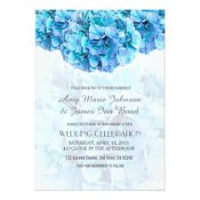 Hydrangea Wedding Hydrangea Wedding Invitations U0026 Announcements Zazzle