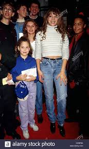 11 21 1994 new york mariah carey signing her new cd of stock photo